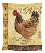 Retro Rooster 1 Tapestry