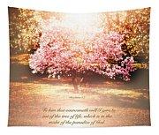 Revelation Tree Of Life Tapestry