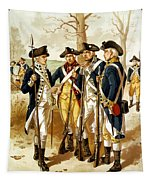 Revolutionary War Infantry Tapestry by War Is Hell Store