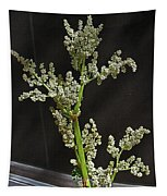 Rhubarb Blossoms Tapestry