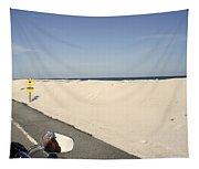 Riding Along Pensacola Beach Tapestry