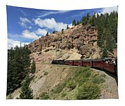 Riding The Cumbres And Toltec Tapestry