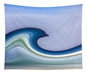 Riding The Waves Tapestry