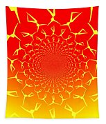 Ring Of Fire Dancers Tapestry
