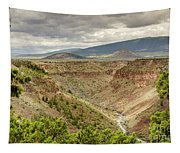 Rio Grande Gorge At Wild Rivers Recreation Area Tapestry