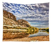Rio Grande River Oil Painting Tapestry