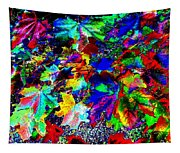 Riot Of Color Tapestry