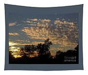 Ripple Clouds At Sunset Tapestry