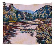 Ripples On The Little River Tapestry