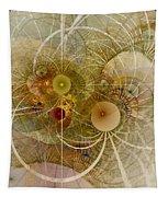 Rising Spring - Fractal Art Tapestry