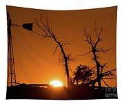 Rising Sun Tapestry