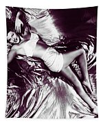 Rita Hayworth, The Satin Doll Tapestry by Joy McKenzie