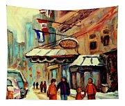 Ritz Carlton Montreal Cityscenes  Tapestry
