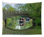 River At Harlow Mill Tapestry