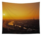 River Boyne, Drogheda, Co Louth, Ireland Tapestry