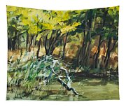 River In Summer Tapestry