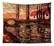 River Landscape Tapestry
