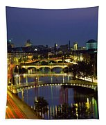 River Liffey Bridges, Dublin, Ireland Tapestry