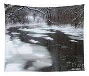 River Of Melting Ice Tapestry