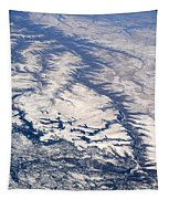 River Valley Aerial Tapestry