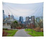 Riverwalk - Philadelphia Tapestry