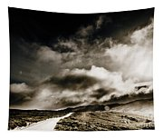 Road Storm Tapestry
