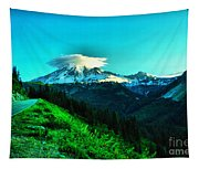 Road To The Mountain  Tapestry