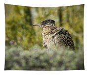 Roadrunner On Guard  Tapestry
