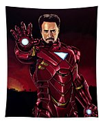 Robert Downey Jr. As Iron Man  Tapestry
