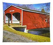 Roberts Covered Bridge Tapestry