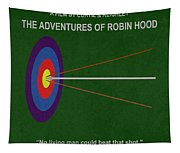 Robin Hood Movie Poster Tapestry