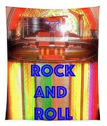 Rock And Roll Jukebox Tapestry
