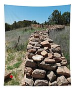 Rock Fence Tapestry