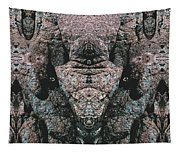 Rock Gods Elephant Stonemen Of Ogunquit Tapestry