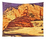 Rock Of Ages Tapestry