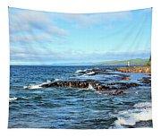 Rock Shore Tapestry