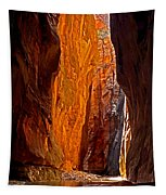 Rock Walls Of Zion Narrows Tapestry