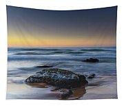 Rockin The Sunrise Seascape Tapestry