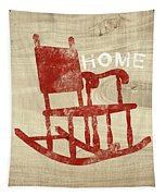 Rocking Chair Home- Art By Linda Woods Tapestry by Linda Woods
