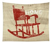 Rocking Chair Home- Art By Linda Woods Tapestry