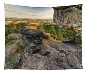 Rocks Of Sharon Overlook Tapestry