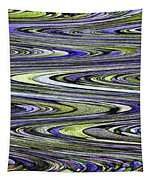 Rocks On Beach Abstract Tapestry
