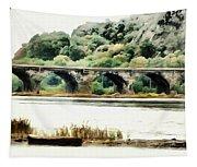 Rockville Bridge On The Susquehanna River Tapestry