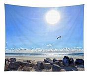 Rocky Beach Tapestry