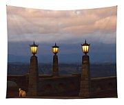 Rocky Butte Lamps Tapestry
