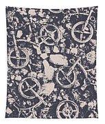 Rocky Mountain Bike Trail Tapestry
