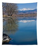 Rocky Mountain Reflections Tapestry