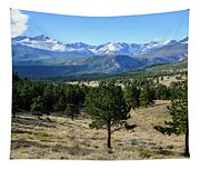 Rocky Mountain View Tapestry