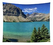 Rocky Mountains Panorama Tapestry