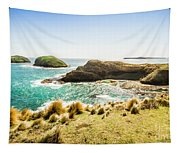 Rocky Ocean Capes Tapestry
